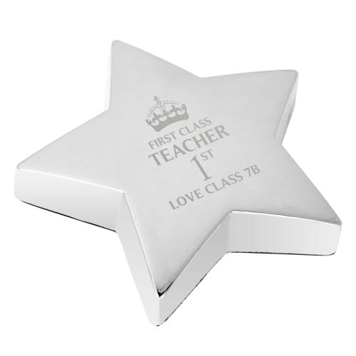 1st Class Star Paperweight