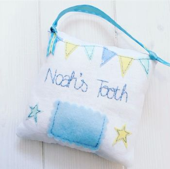 Boys Handmade Tooth Pillow