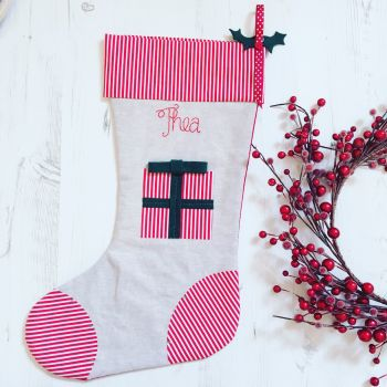Luxury Christmas Present Christmas Stocking