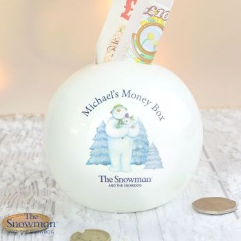 The Snowman and the Snowdog Money Box