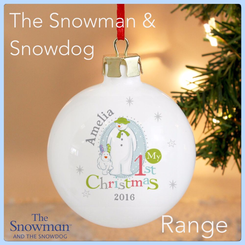 The Snowman & Snowdog Christmas Collection