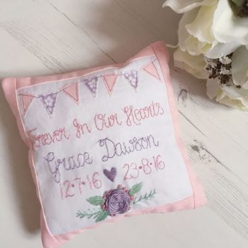 Keepsake Remembrance Cushion