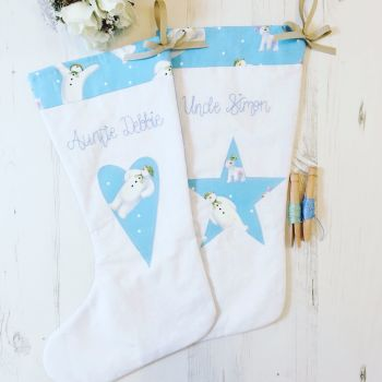 The Snowman & Snowdog Christmas Stocking