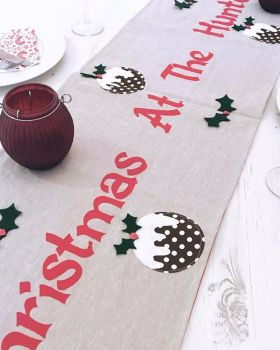 Bespoke Personalised Table Runner