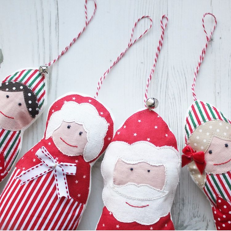 Set of 3 Christmas Decorations