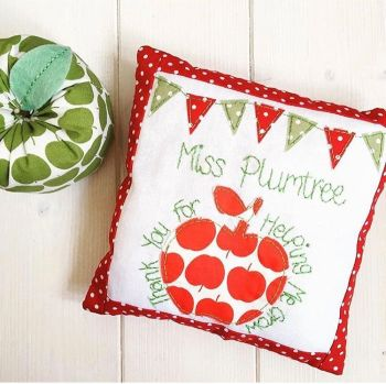Keepsake Teacher Cushions (Red)