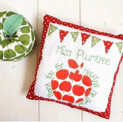 Keepsake Teacher Cushions (Red)