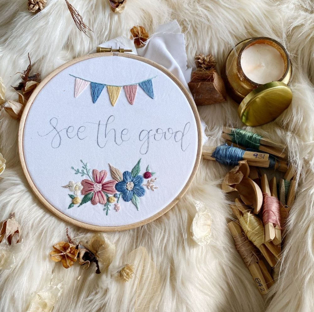 See The Good Embroidery Kit