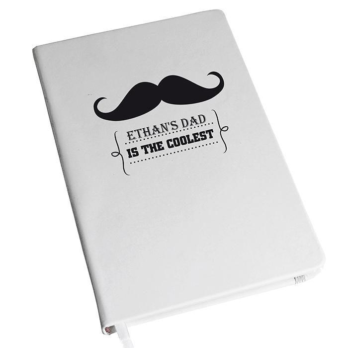 Moustache Hardback A5 Notebook
