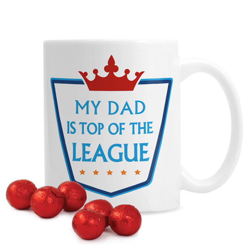 Top of the League Mug with Chocolates