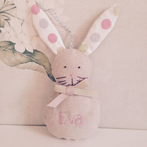 Personalised Hanging Bunny