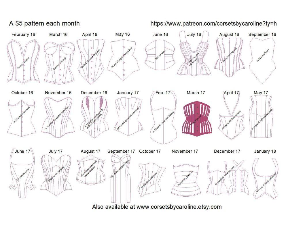 Patterns to jan 18