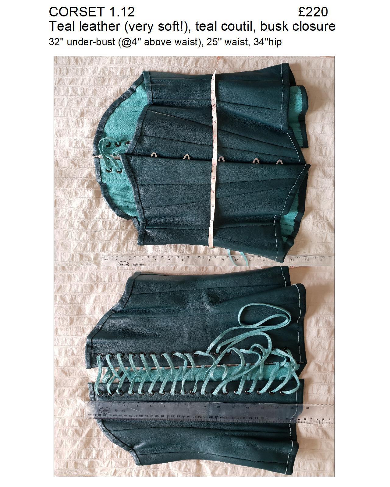 1.12 teal leather ub