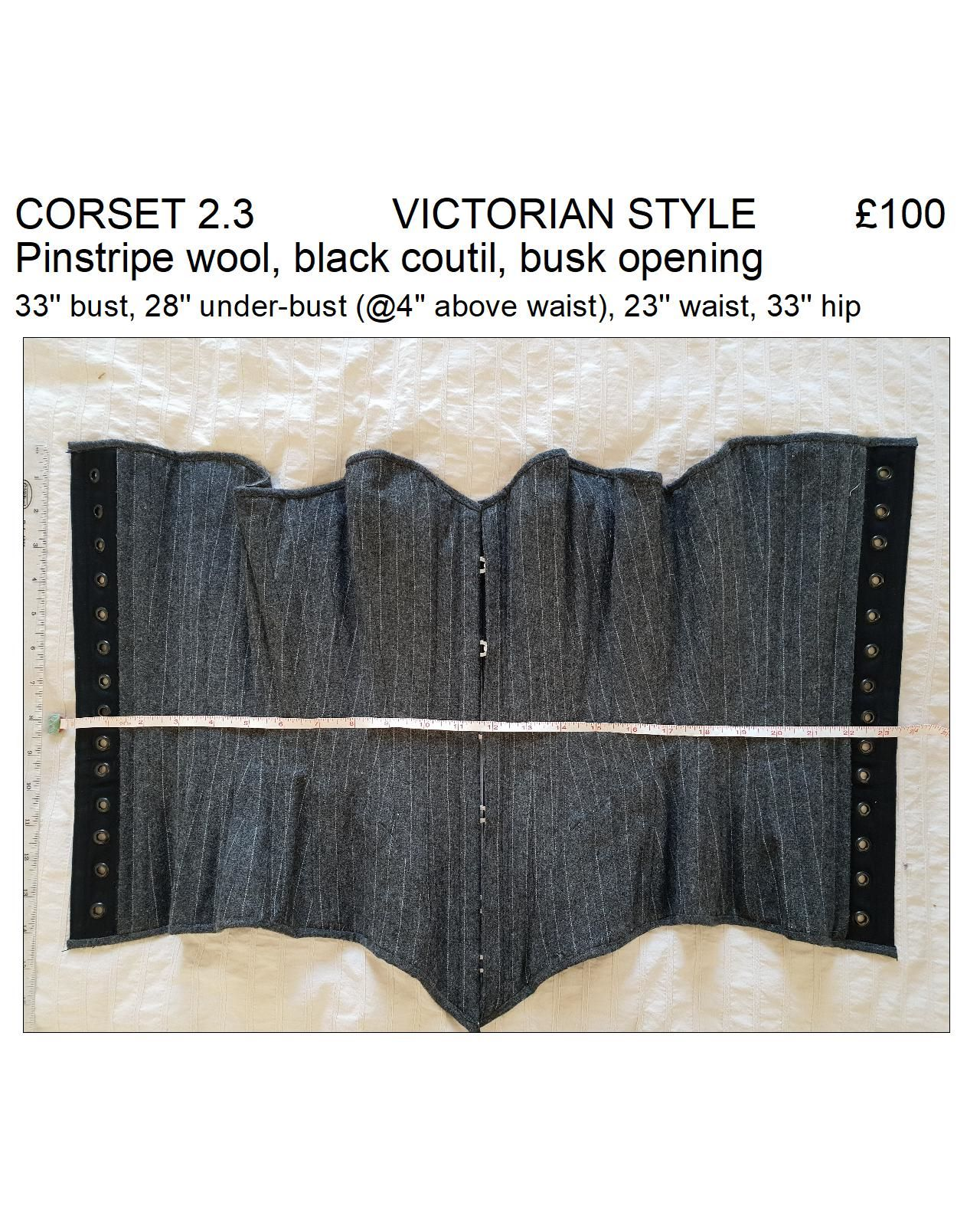 2.3 wool victorian