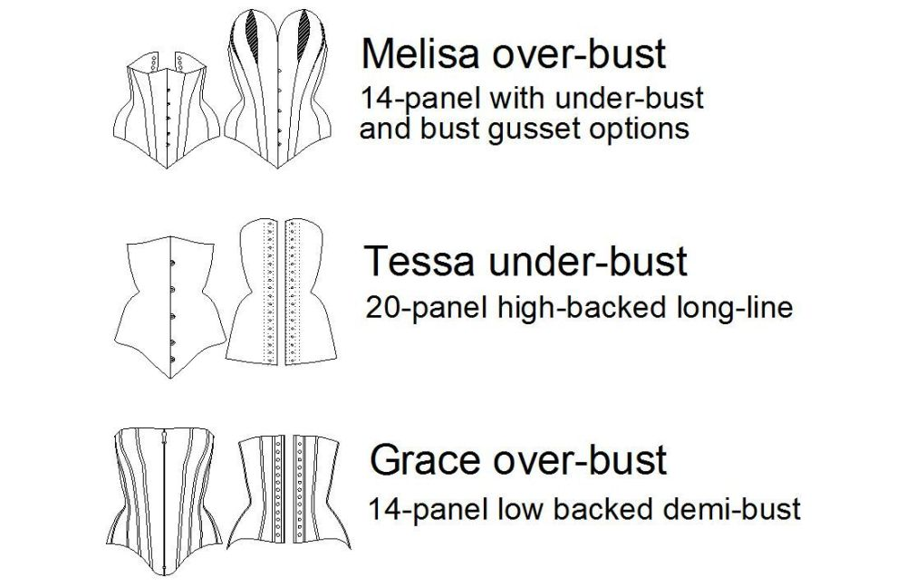 Corset Classics II: a selection of patterns from Corsets by Caroline