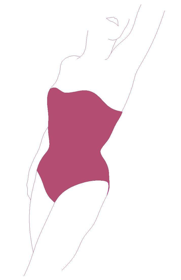 Betty bodysuit corset pattern