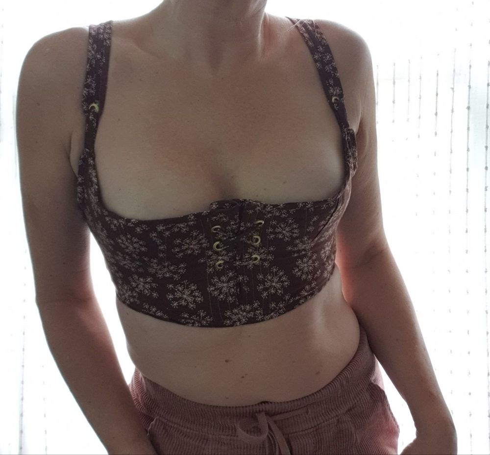 Regency style bra