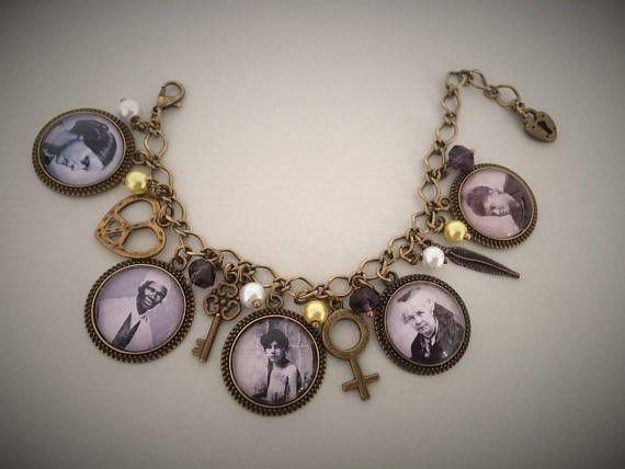 USA Suffragette Charm Bracelet