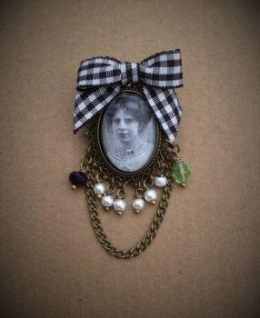 Annie Kenney Suffragette Brooch