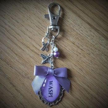WASPI Keyring / Bag Charm (Donation to WASPI)