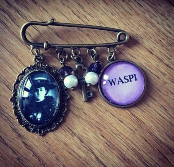 WASPI / Emily Davison Pin Brooch (Donation to WASPI)