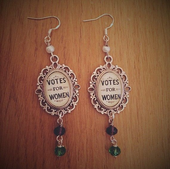 Votes for Women Dangle Earrings