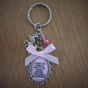 Always be A Unicorn Keyring / Keychain