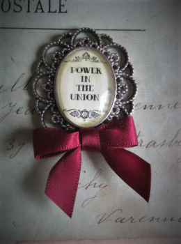 Power in the Union Pin Brooch