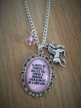 Always Be a Unicorn Necklace