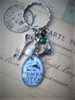 Women Bring All Voters... Keyring / Keychain