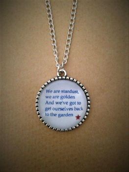 We are stardust - Woodstock Necklace