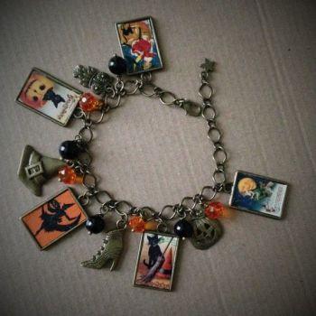 """HALLOWEEN !!!   """"Vintage Halloween"""" Bracelet"""