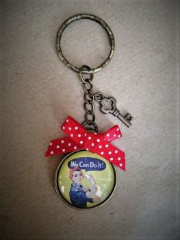 We Can Do It Keyring / Keychain