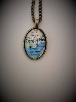 Personalised Map Necklace