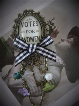 Votes for Women Pin Brooch