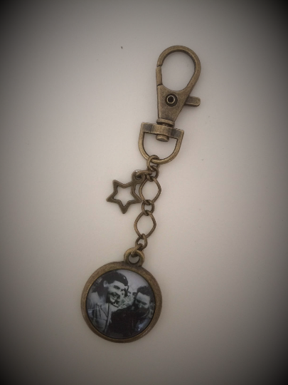 Che and Vidal Keyring / Keychain