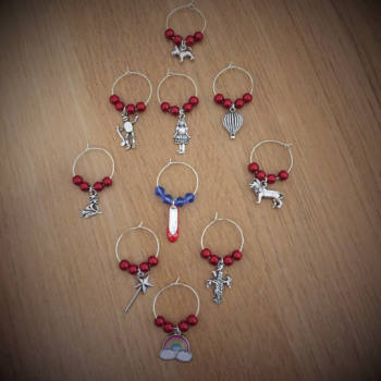 Wizard of Oz Wine Glass Charms