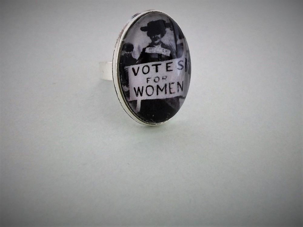 Votes for Women Ring