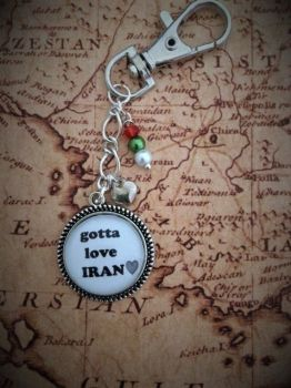 Gotta Love Iran Keyring