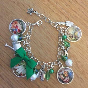 Gardener's / Allotment Charm Bracelet