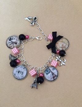 Old Paris Charm Bracelet