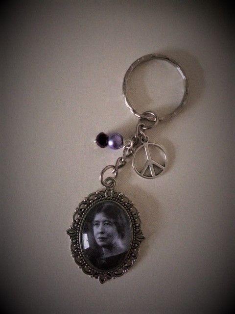 Sylvia Pankhurst Keyring / Keychain