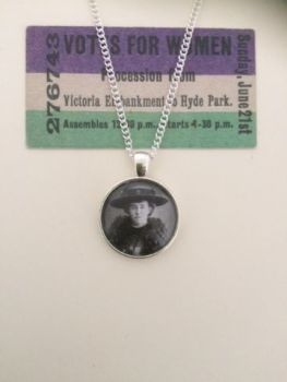 Emily Davison Pendant Necklace