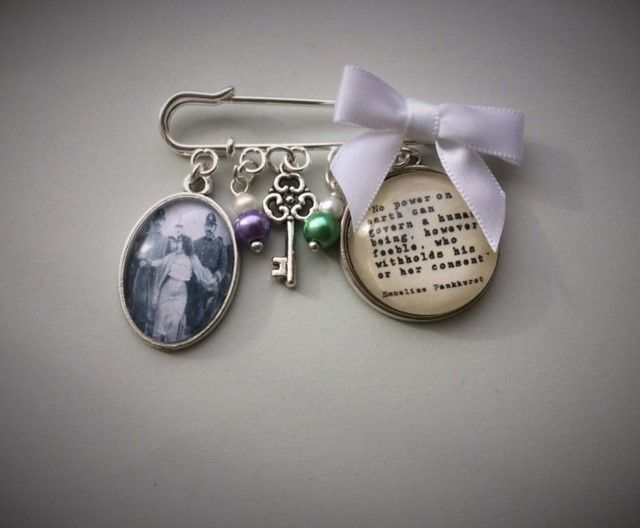 Dora Thewlis Suffragette Pin Brooch