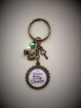 A Woman's Place... Keyring / Keychain