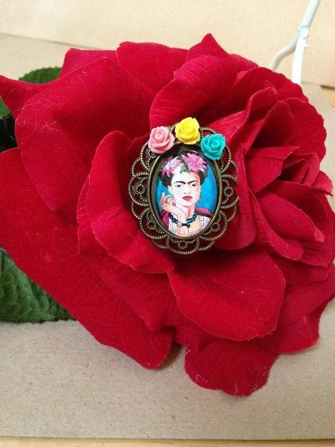 Frida Kahlo Brooch / Pin