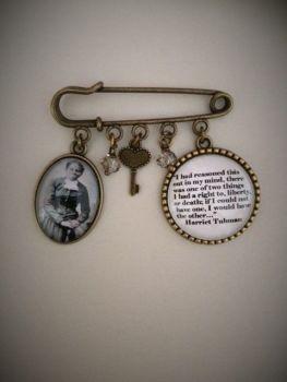 Harriet Tubman Pin Brooch