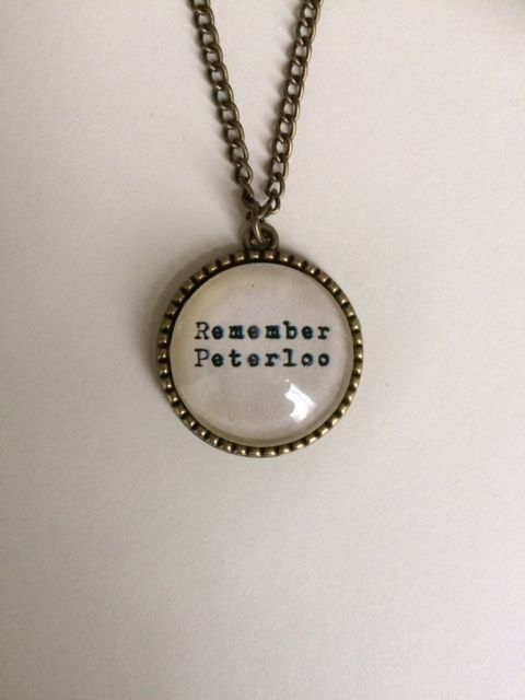 Remember Peterloo Necklace