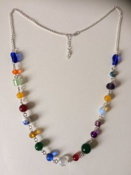 STUNNING Multi-Stone Necklace