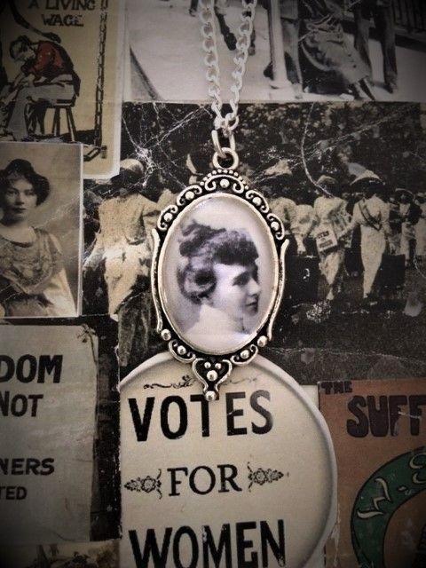 Emily Wilding Davison Necklace